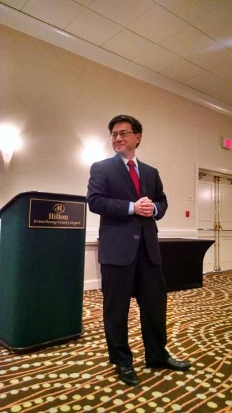 January 2015: State Treasurer John Chiang 9